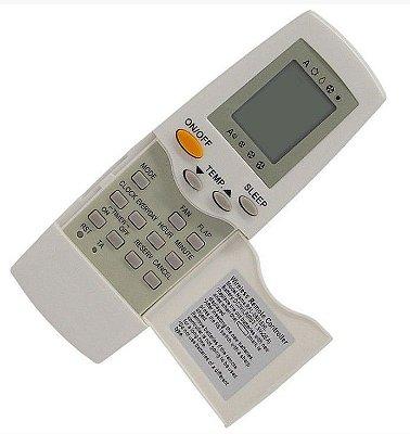 Controle Remoto Ar Condicionado Springer Carrier Rfl-0601ehl