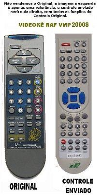 Controle Remoto DVD  Videoke Raf Eletronics VMP-2000S