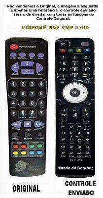 Controle Remoto DVD Videoke Raf Eletronics VMP-3700