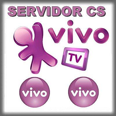 Servidor CS VIVO SD / HD  - Plano 90 Dias