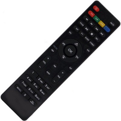 Controle Remoto Receptor Cinebox Supremo X2 HD