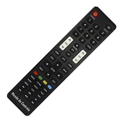 Controle Remoto Tv Semp Toshiba CT6710 / 32L2400 /  40L2400 / 48L2400 / DI3245I