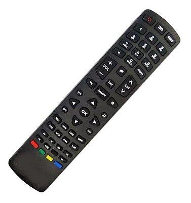 Controle Remoto Tv Philco Led Smart PH51U20PSGW  compatível  P/ Todas Smartv