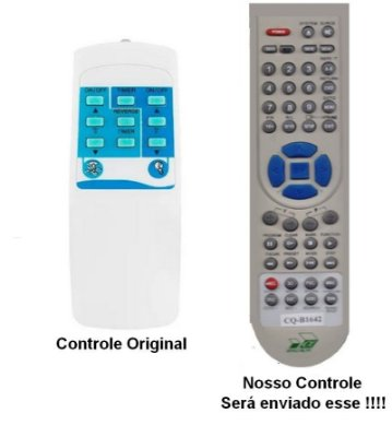 Controle Remoto Para Ventiladores De Teto Autentic / Dynacom / Lorensid / LS