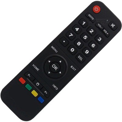 Controle remoto Receptor de TV H.TV Smart 4K Full HD