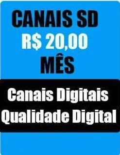 Pacote  de  Canais IPTV  SD , HD, Full HD, apenas canais de TV, sem canais Adultos e sem On-Demand