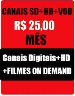 Pacote Canais IPTV  SD , HD, Full HD, TV , Filmes, On- Demand,  Seriados, sem Canais Adultos  mais de 2300 Canais - 30 dias
