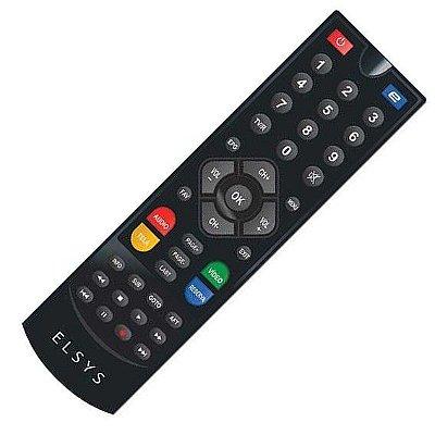 Controle Remoto Receptor de TV Digital USB HDMI Duomax HD Elsys