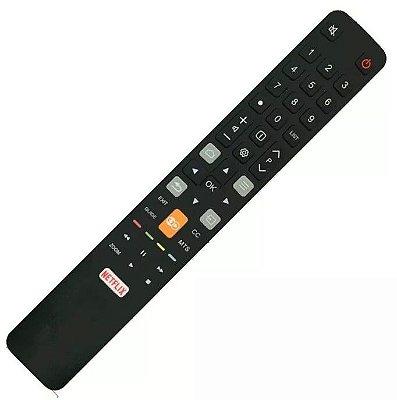 Controle Controle TV TCL Smart 4k Netflix + Globo Play L40S4900fS / L43S4900f / 49P2US / U55C7006