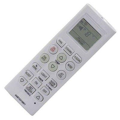 Controle Remoto Ar Condicionado Split LG Libero E+ AKB73315601 / AKB73756219 / AKB73455711 / AKB73455715