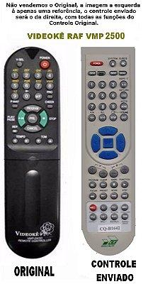 Controle Remoto DVD Videoke Raf Eletronics VMP-2500