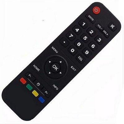 Controle Remoto Receptor HTV  5 Ultra HD