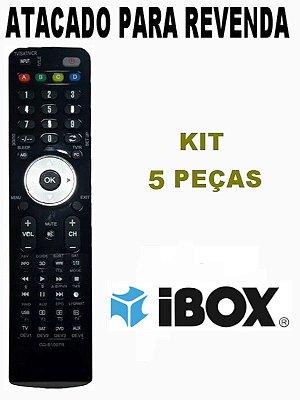 Controle Remoto Receptor New mini Ibox HD Atacado Kit com 5 peças