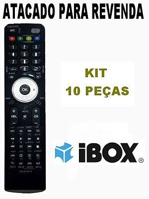 Controle Remoto Receptor New mini Ibox HD Atacado Kit com 10 Peças