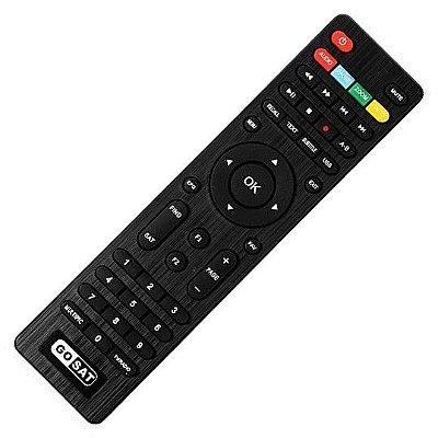 Controle Remoto Receptor GoSat Plus / Cable+ / CS+ / Pro
