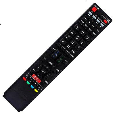 Controle Remoto Para Tv Lcd Sharp Aquos GB005WJSA / GB118WJSA / GA890WJSA / GB004WJSA