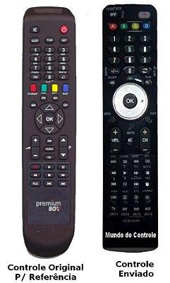 Controle Remoto Receptor Premium Box  P-F98 HD / P950 SD Duo / P990 HD /  P-F95 NET HD / P-999
