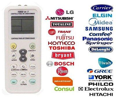 Controle Remoto Universal Para Ar Condicionado - Todas As Marcas