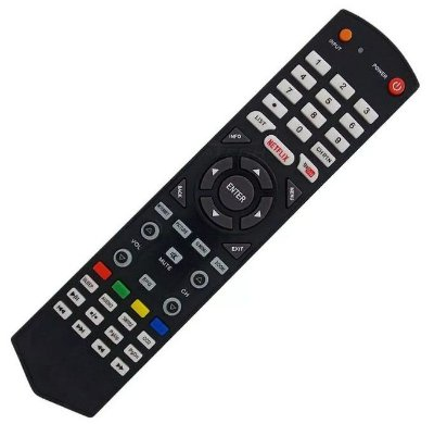 Controle Remoto Tv Semp Toshiba Substitui O CT-8045