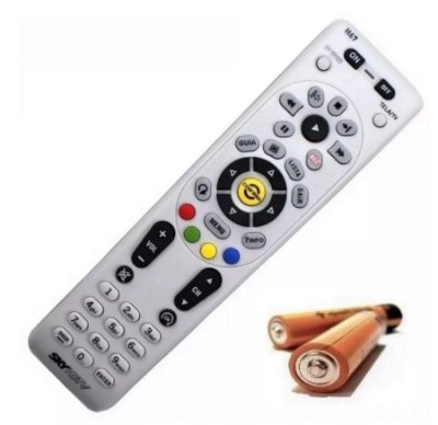 Controle Remoto Original SKY  HDTV  Hd Plus  Modelo H67 -  Acompanhas as Pilhas