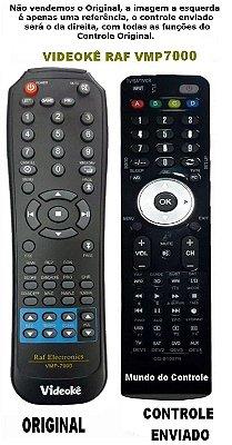Controle Remoto para DVD Videoke Raf Eletronics VMP-7000
