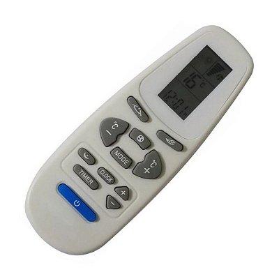 Controle Remoto Ar Condicionado York Elgin  YHEC-YHDC07; YHEC-YHDC08; YHEC09FS-ADG YHEC-YHDC09; YHEC-YHDC10; YHEC-YHDC11 YHEC-YHDC12; YHEC-YHDC13; YHEC-YHDC14