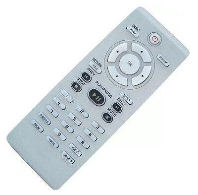 Controle Remoto Dvd Philips Dvp 3124/ 4000 / 3020 / 4050 Karaoke