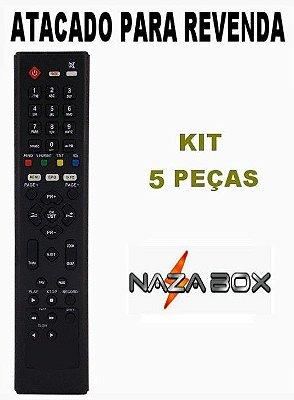 Controle Remoto Receptor Nazabox Cable+ IP Kit 5 Peças