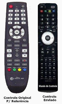 Controle Remoto Receptor New mini Ibox HD