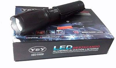 Lanterna Tática Led CSW HL-036 Militar T6 980000W - Com sinalizador