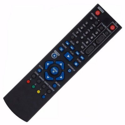 Controle Remoto Blu-Ray LG AKB73215301  Substitui o AKB73095401