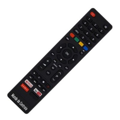 Controle P/ Tv Philco Com Tecla Netlix / Youtube Globoplay
