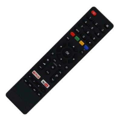 Controle Remoto TV LED Philco PTV40E60SN / PTV40E60SNC / PTV43E60SN com Netflix e Youtube (Smart TV)