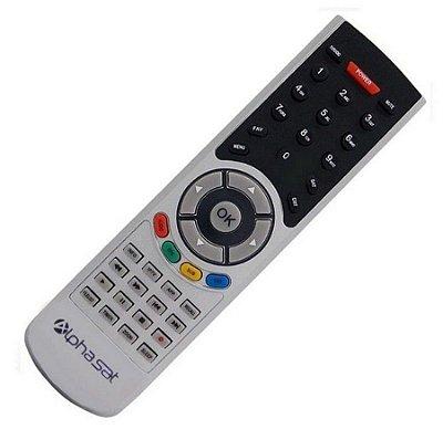 Controle Remoto  para Receptor Alphasat Go Plus Dc Tx