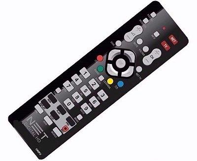 Controle Remoto Receptor Net Digital e HD Max Com Botão TV - Original