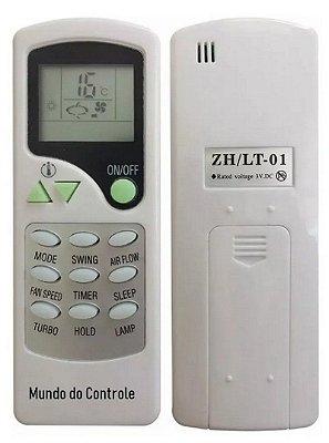 Controle Remoto Ar Condicionado Elgin ZH/LT-01