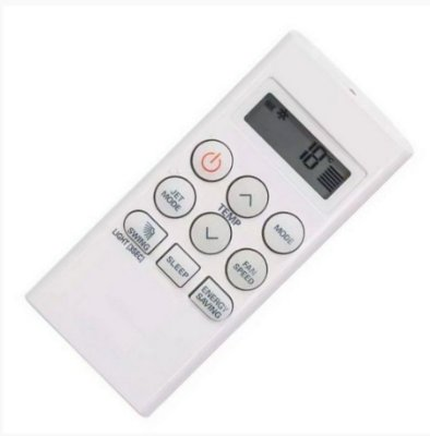 Controle Remoto Do Ar Condicionado LG Ts-h092w4w0 Ts-c182m4w