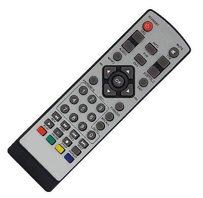 Controle Remoto Conversor Digital Aquário Modelo Dtv6000