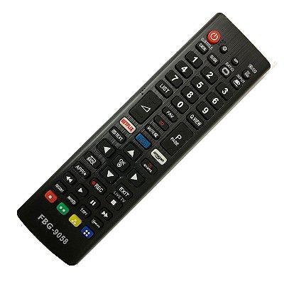 Controle Remoto Universal Para Tvs LG  Smart C/ Botão Netflix Amazom