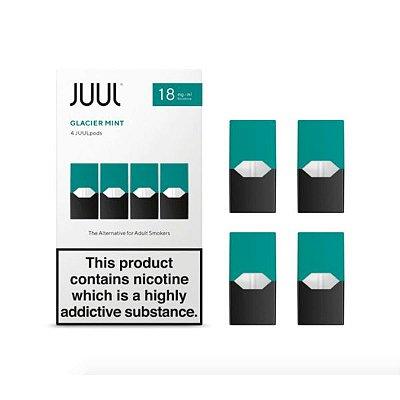 REFIL JUUL (PACK OF 4) GLACIER MINT 18 MG