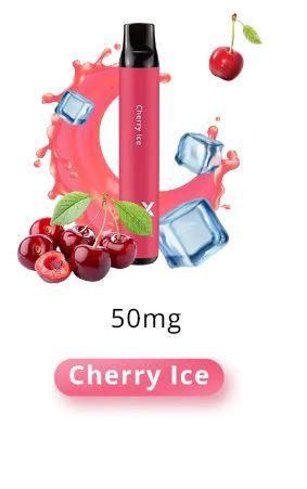 SOLO X DESCARTAVEL CHERRY ICE 1500 PUFFS (TRAGADAS)