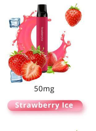 SOLO X DESCARTAVEL STRAWBERRY ICE 1500 PUFFS (TRAGADAS)