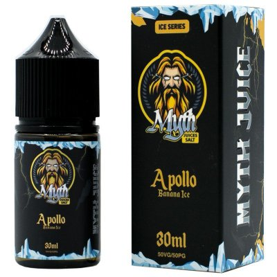 LIQUIDOS MYTH APOLLO - BANANA ICE SALT NIC  30ML
