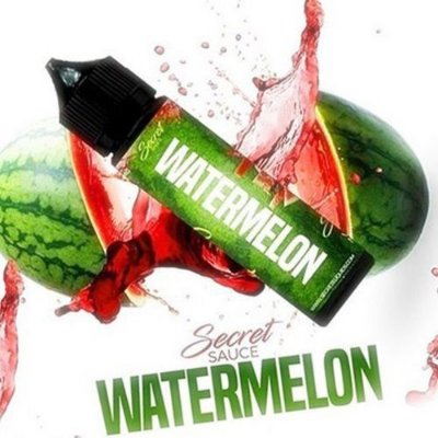 LIQUIDO SECRET SAUCE PREMIUM WATERMELON (MELANCIA) 60ML - 3MG NICOTINA