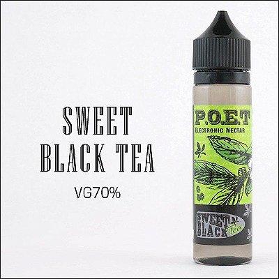 LIQUIDO P.O.E.T - SWEET BLACK  TEA 60ML
