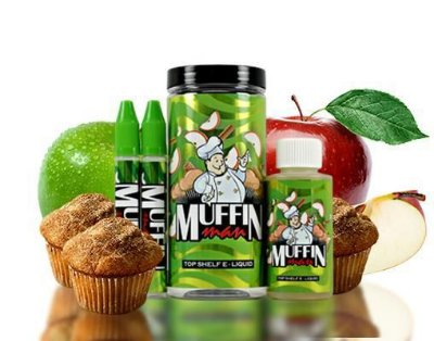 MUFFIN MAN SALT NIC - 100ML - MAN SERIES PROMOÇÃO BLACK FRIDAY