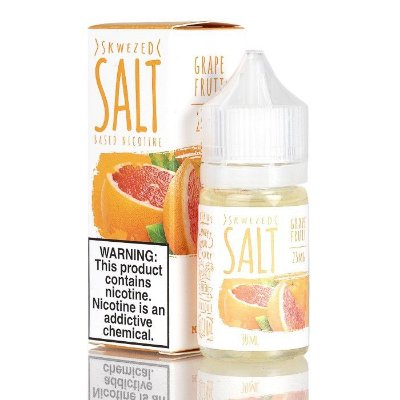 Salt Nic Grape Fruit  SKWEZED 30ml
