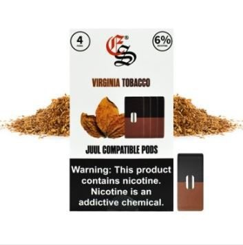 REFIL EONSMOKE VIRGINIA TOBACCO 6%