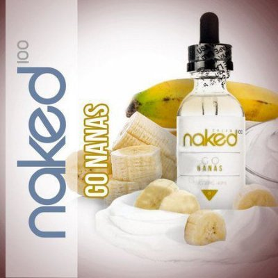 LIQUIDO NAKED 100 - CREAM - GO NANAS 60ML
