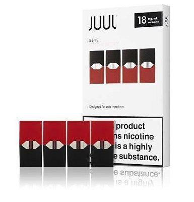 REFIL JUUL (PACK OF 4) ALPINE BERRY 18 MG